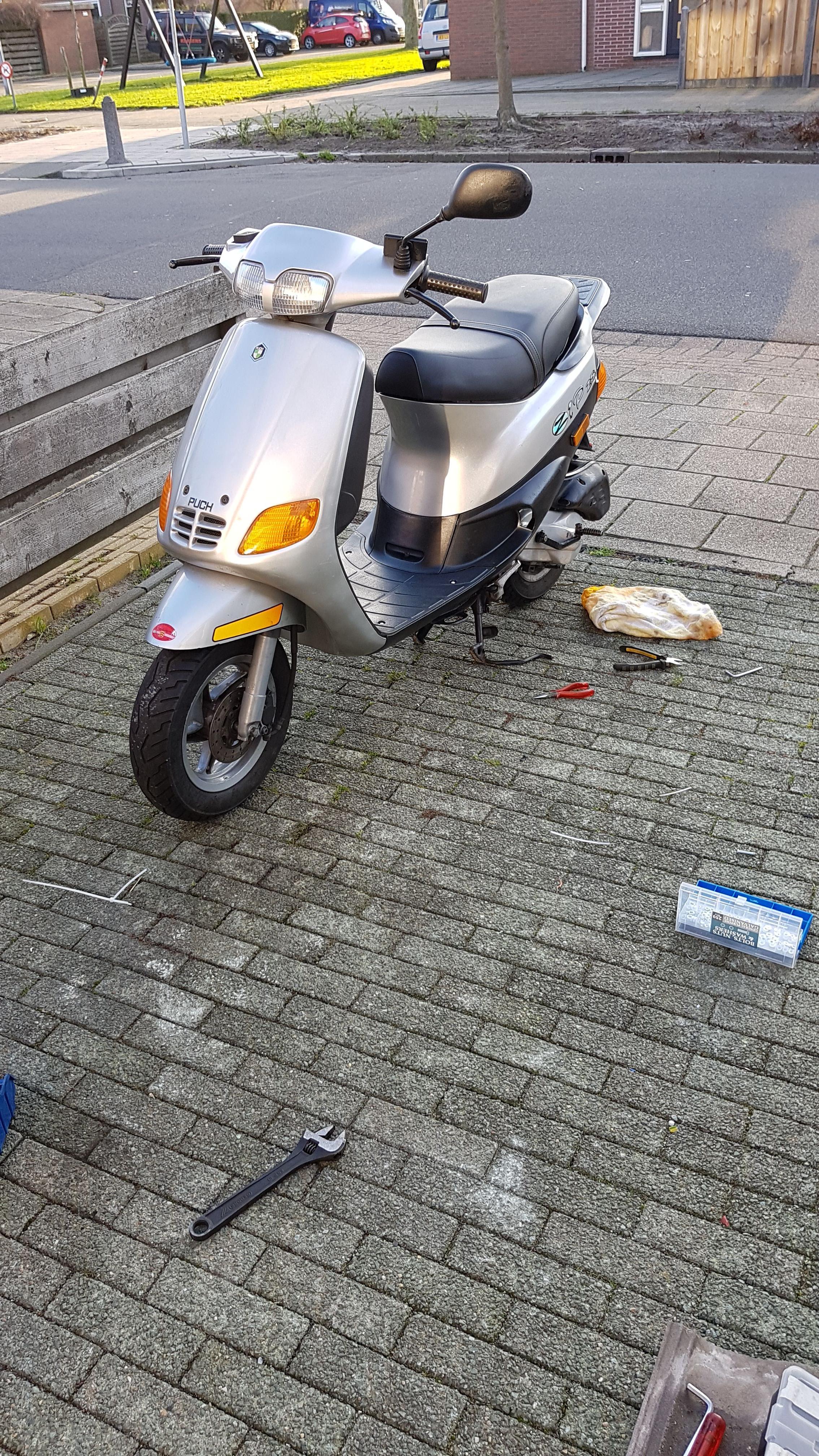 Wonderlijk Voorlicht brand door (Zip Type 3) - Vespa-Ciao.nl JB-67